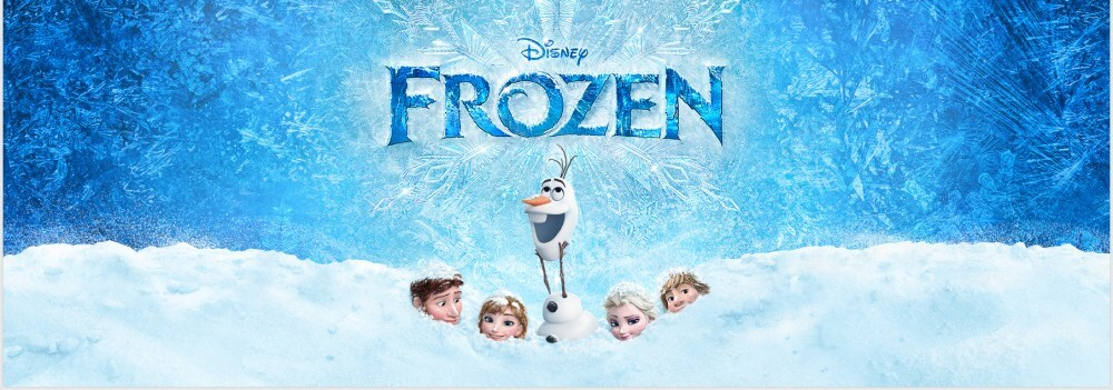 Frozen obraz